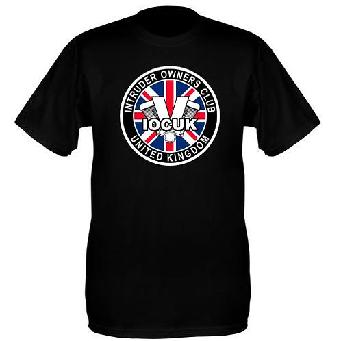 Club Logo on Black T-shirts