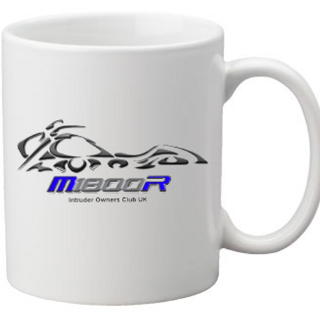 Coffee Mug - M1800R Blue Logo