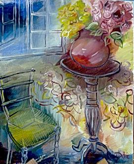 Atelier Peinture à l'huile Gond Pontouvre