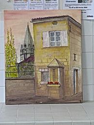 Atelier peinture acrylique Chazelle