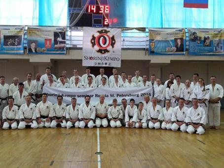 International seminar in St.Peterburg, 2016