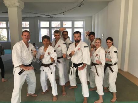 Международный тренировочный лагерь Сёриндзи Кэмпо в Берлине, 2018