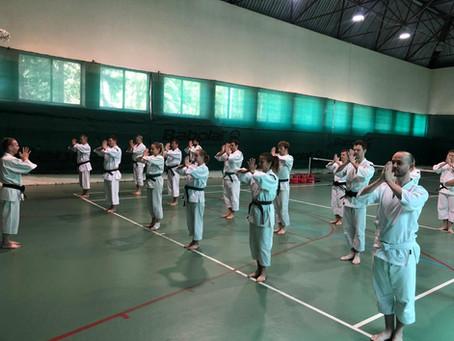 Отчёт: вторые учебно-тренировочные спортивные сборы ФСКР