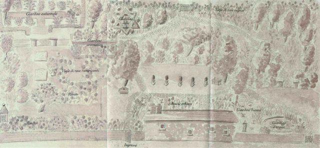 Map of the Garden