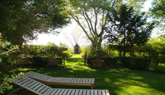 Entry on the Old Rose Garden