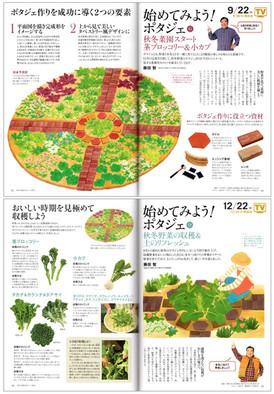 月刊誌『趣味の園芸 やさいの時間』/NHK出版