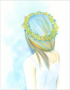 「花に聞くvol.17 ミモザ」