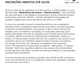 Repertórios de dança Marcelo Evelin