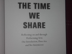 The Time We Share - Kunstenfestivaldesarts - Chantal Mouffe escreve sobre Marcelo Evelin - Dance is