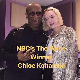 Chloe Kohanski and Lee Evans