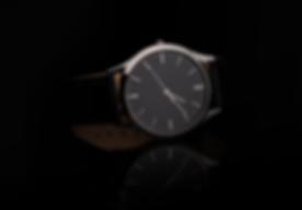 Reloj de cuero de lujo