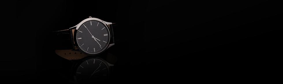Luxus-Leder-Uhr