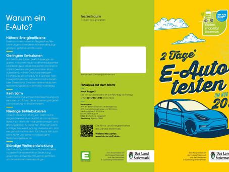 """""""2 Tage E-Auto testen um nur 20 Euro!"""""""
