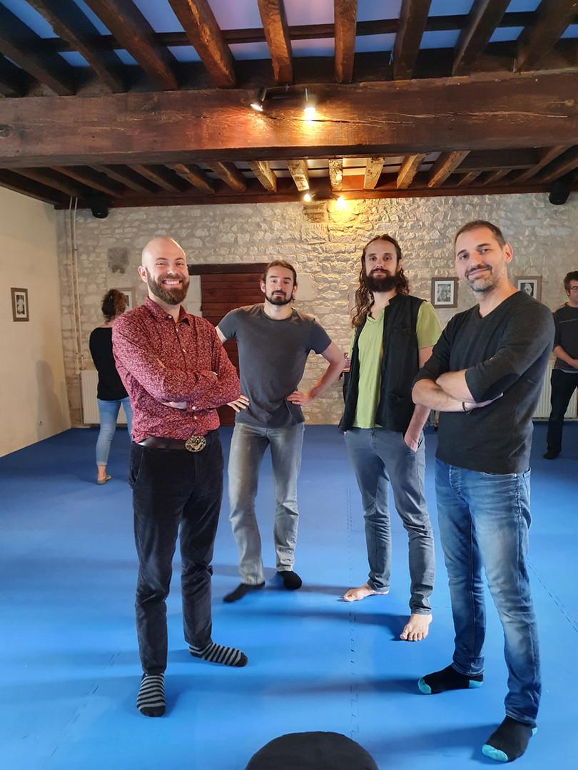 Joffrey Dachelet, Florian Baune, Florent Ropion & Jérémy Doyen