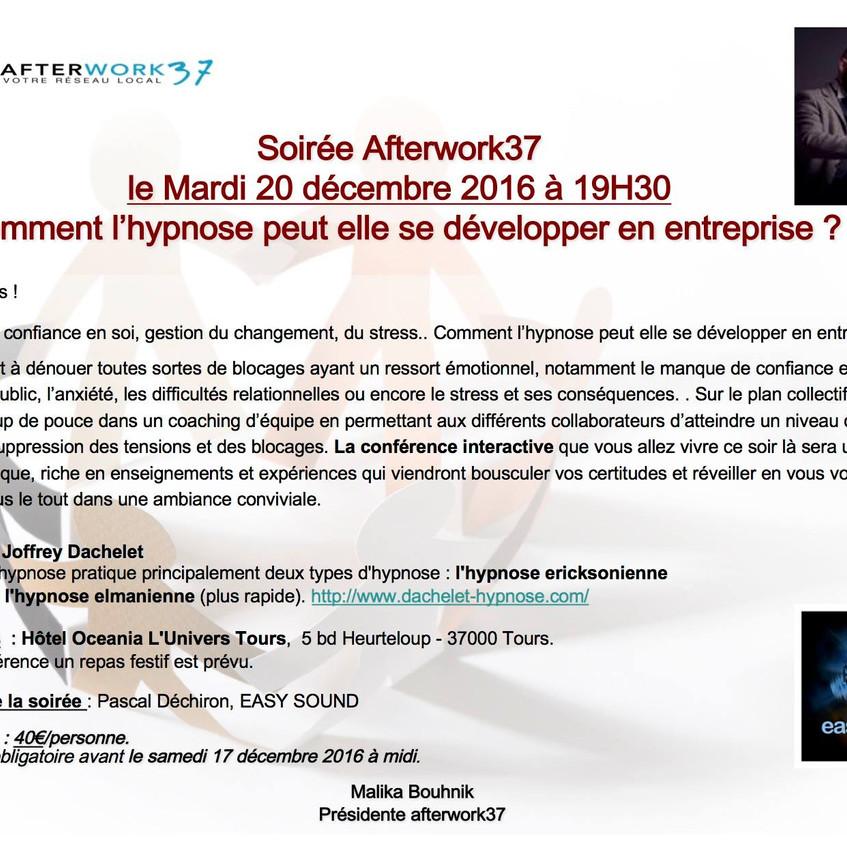 """Conférence """"hypnose & entreprise"""""""