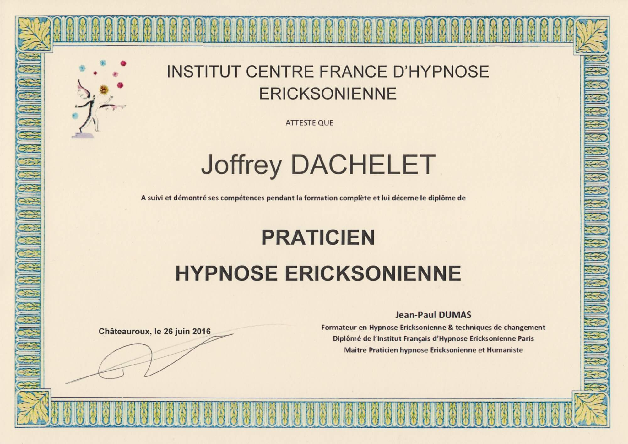 diplome ICFHE-praticien-hypnose