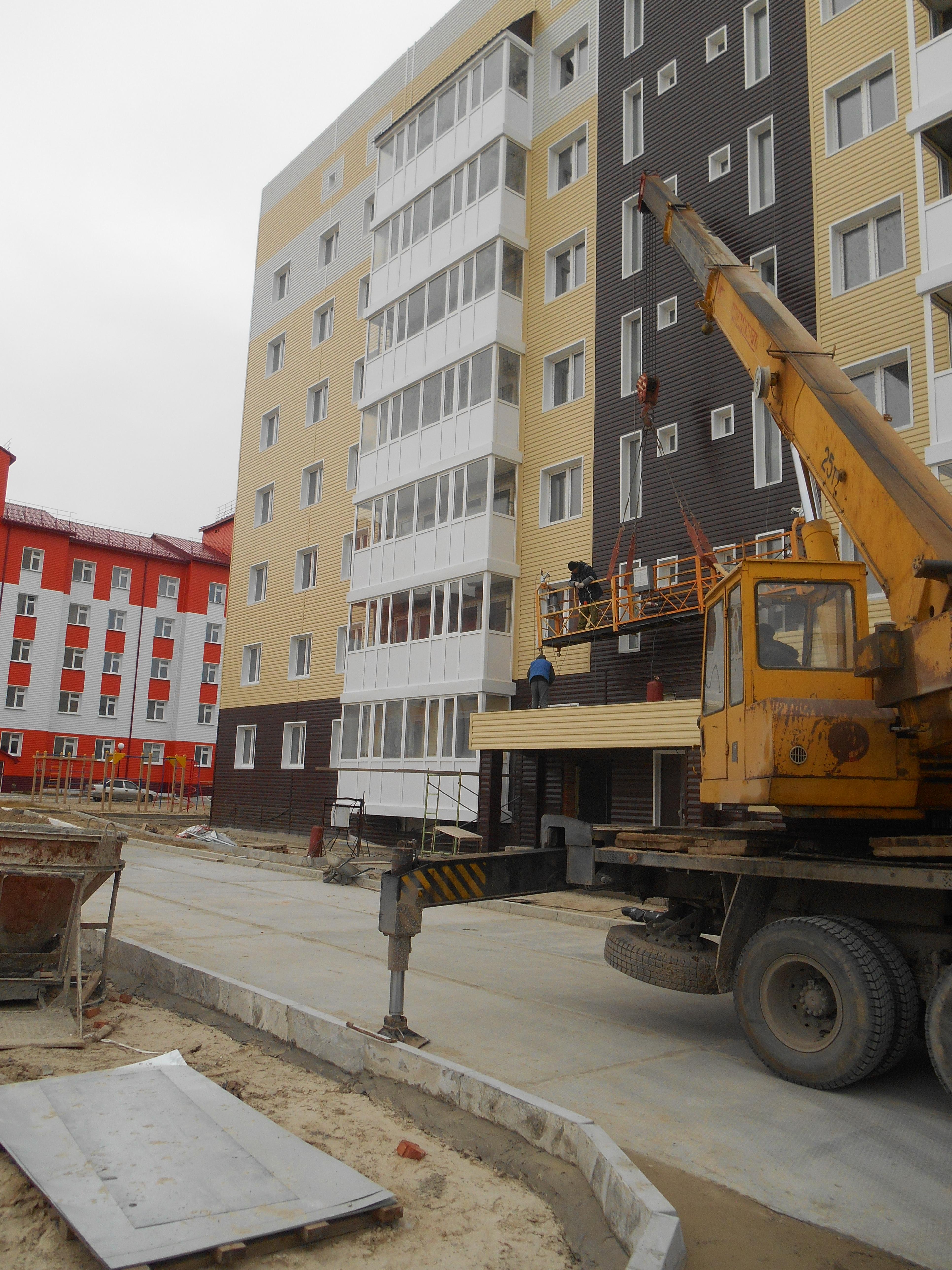 Жилой дом №3 г. Муравленко