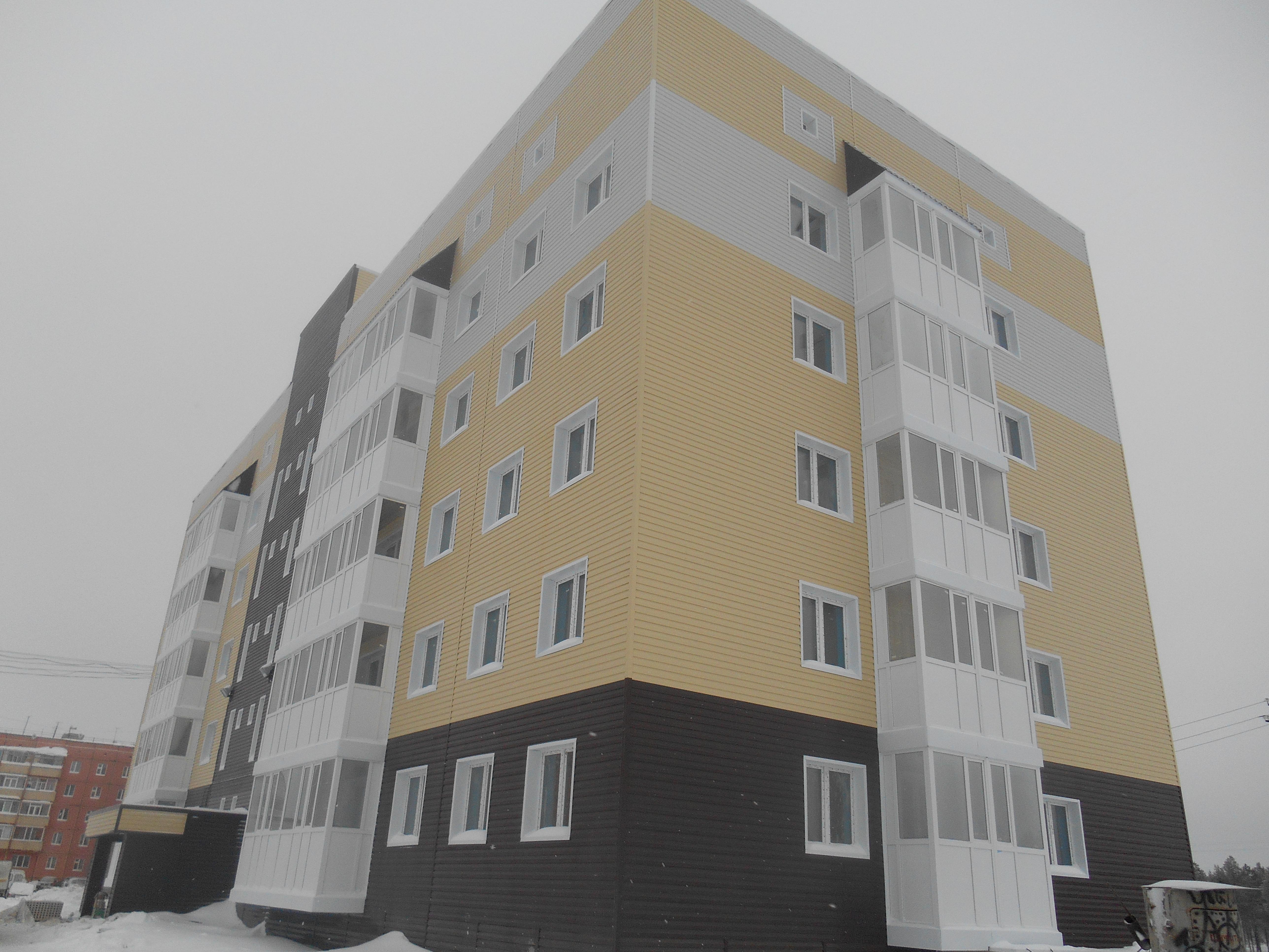 Жилой 5-тиэтажный дом