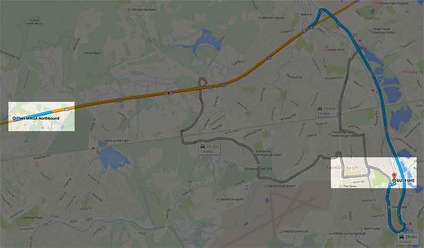 Taxi-near-M3-Fleet-Services-Junction-4A.