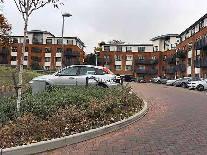 Wallis square near BMW Farnborough