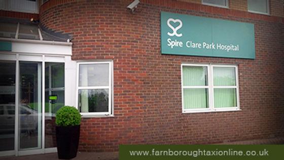 Spire Claire Park in Crondall Farnham.jp