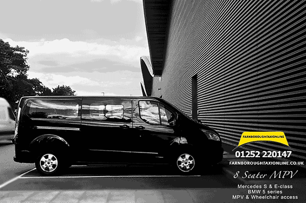 8 seater taxi Farnborough Airport.png