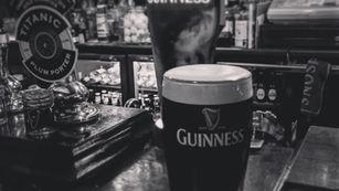 Pint of the black stuff