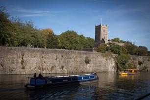 Castle Park and river