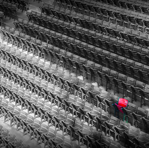 The one red chair