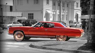 red car miami