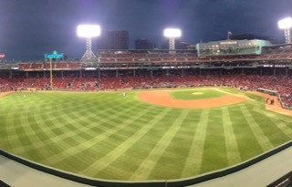 View from the Green Monster