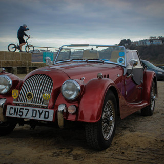 Morgan car St Ives