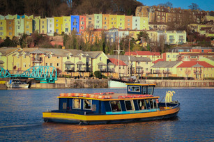 Bristol docks and river taxi