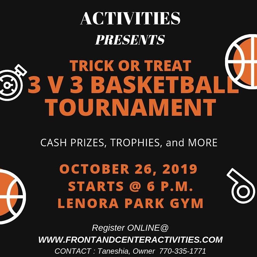 Halloween 3 on 3 Basketball Tournament