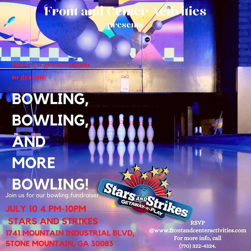 Strike Up your Dreams! Bowling Fundraiser