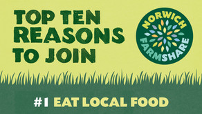 Top Ten Reasons to join Norwich FarmShare – #1 Eat Local