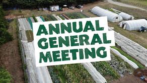 Norwich FarmShare's AGM 2021