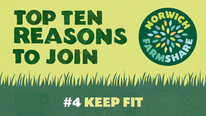 Top Ten Reasons to join Norwich FarmShare – #4 Keep Fit
