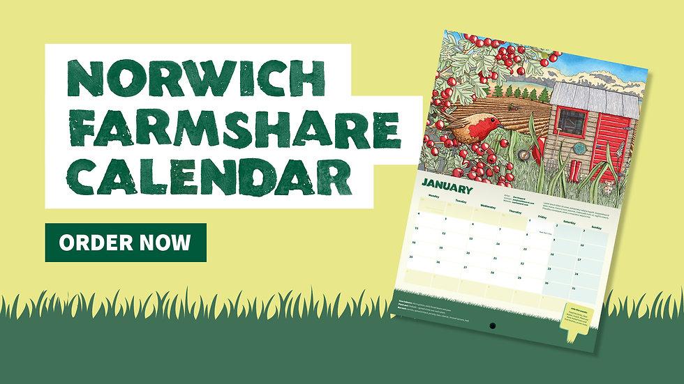 Norwich FarmShare Calendar 2021