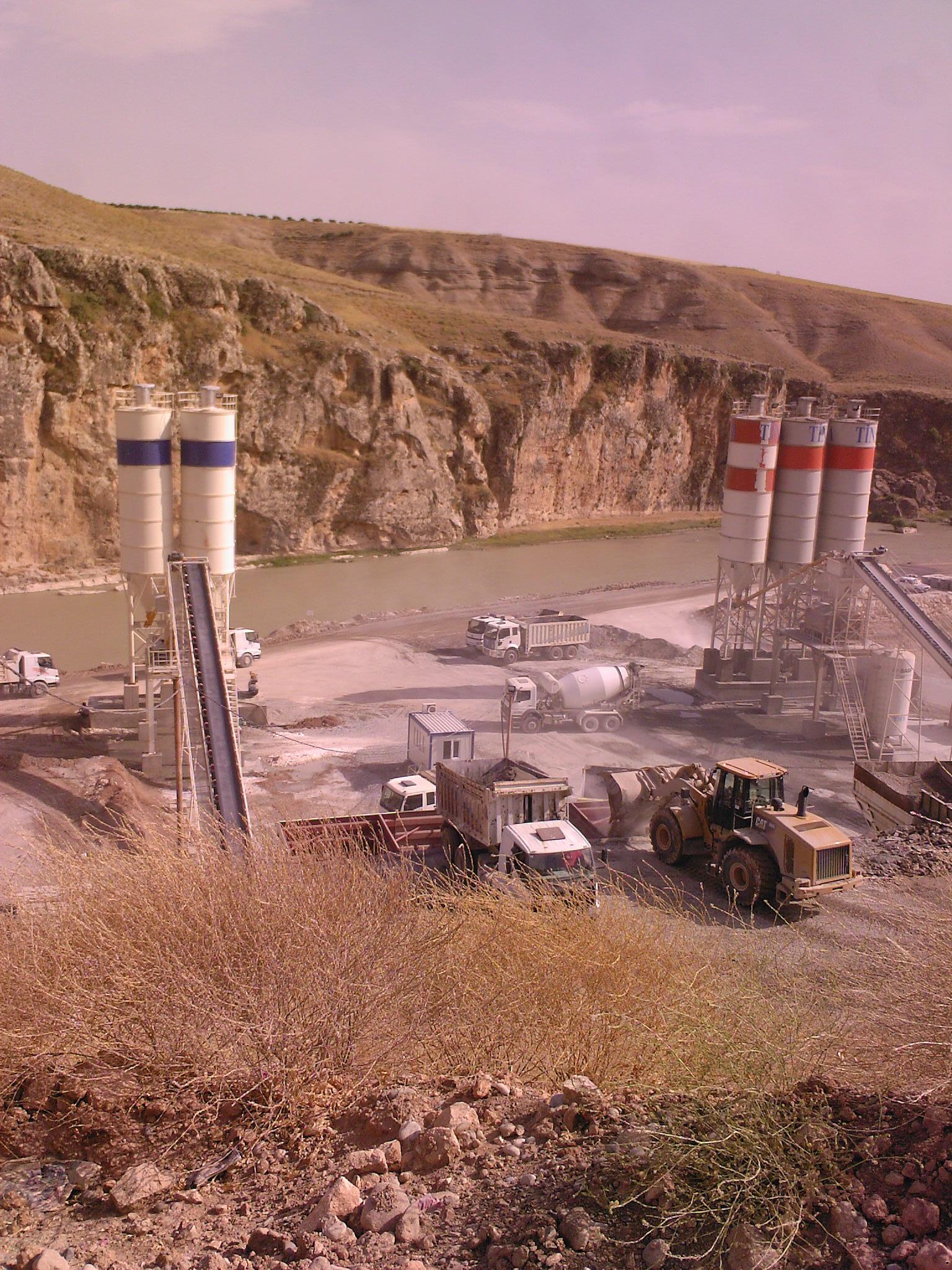 Beton santrali kurulum