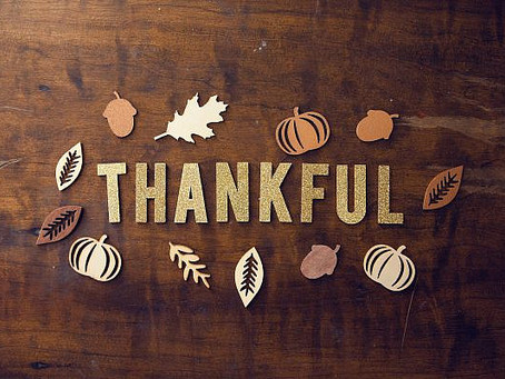 Appreciating the Unexpected: A Thanksgiving Message