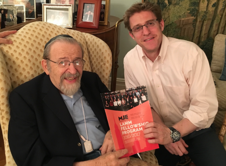 "Memories of a Giant: Rabbi Dr. Lamm zt""l"