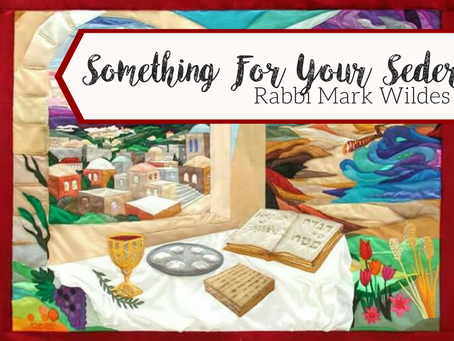 Something for your Seder