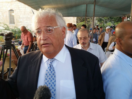 David Friedman:  An Ambassador with Skin in the Game