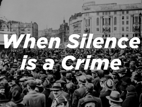 When Silence is a Crime