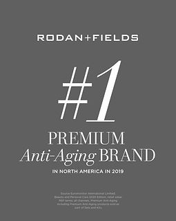 #1 Premium Anti-Aging brand in North Ame