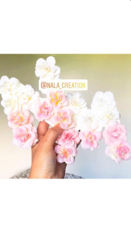 Mini lettre fleurie