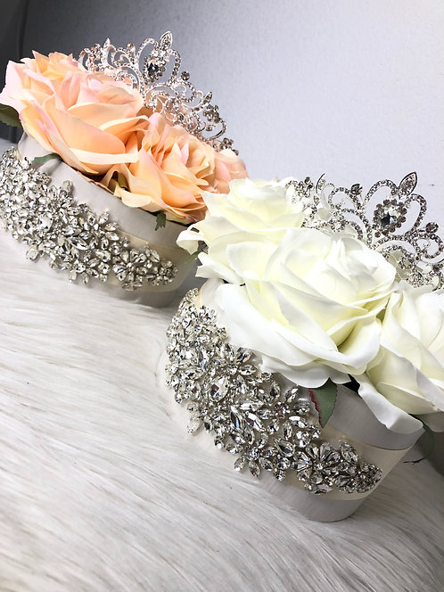Flower box cristal