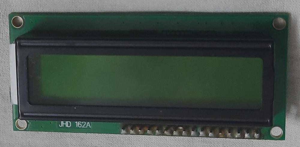 16*2 LCD Display
