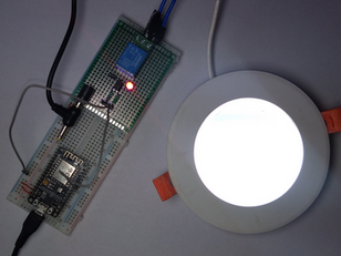 Controlling Ceiling Light using NodeMCu, AWS, and Relay | IoT Project